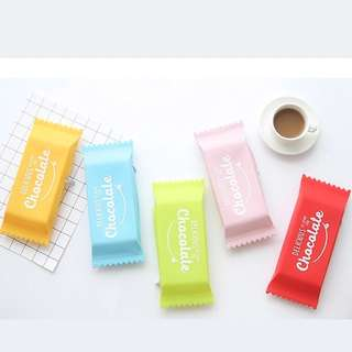 (Pre-order) Chocolate silicone pencil case