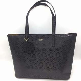 AUTHENTIC GUESS EMBOSSED LOGO G TOTE BAG