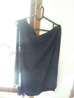 Dress one shoulder top shop