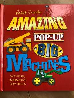 Amazing Pop Up Big Machines