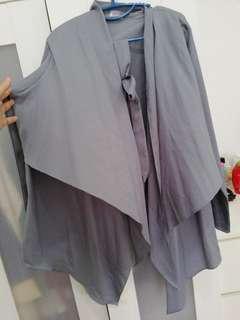 Mourissa Concept Wrap Blouse