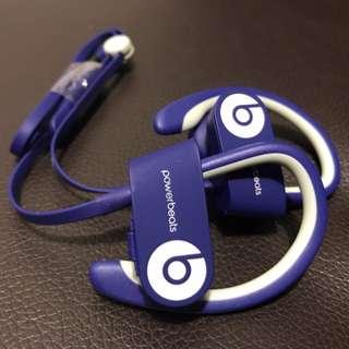 魔音Beats PowerBeats2藍牙耳機全新
