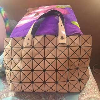 baobao issey miyake inspired bag