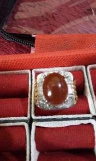 Cincin batu asli red raflesia