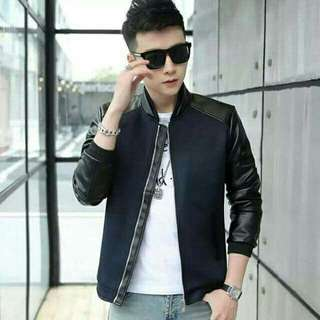 Slim fit Korean Leather Jacket HIGH QUALITY