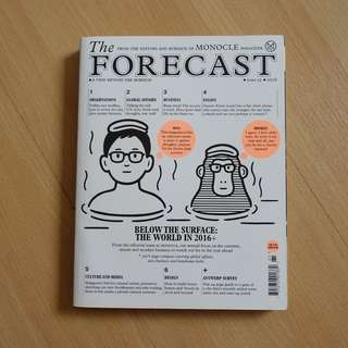 Monocle : The Forecast 2016