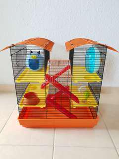 3 tier large hamster cage