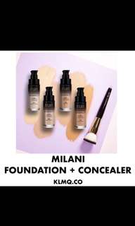 🚚 Milani 2 in 1 foundation and conceal in natural
