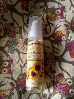Human Nature 100% Sunflower Beauty Oil