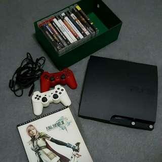 320GB PS3 SLIM w 12 Games