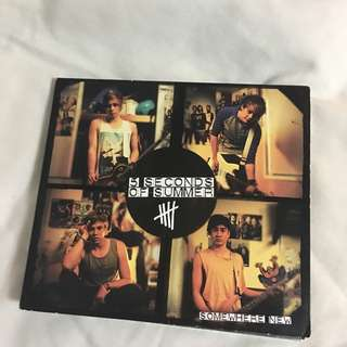 5 Seconds of Summer Somewhere New EP
