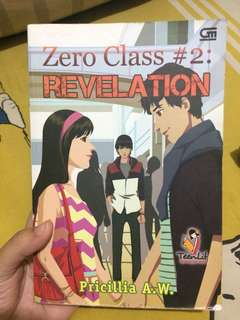 Novel 'Zero Class #2 : Revelation' #kanopixcarousell