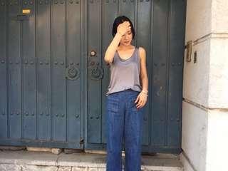 🚚 全新正韓chushan韓國連線購買牛仔褲 (小安, nude, studio doe, dogoose, cover.com)