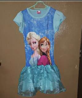Girls Disney Frozen Dress