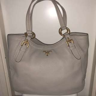 PRADA Sacca 2 Manici Leather tote bag