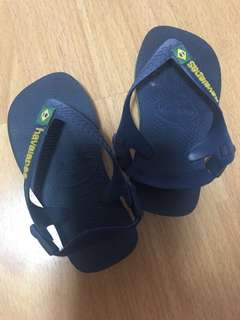 Havaianas Navy Blue Slippers