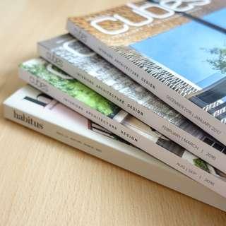 Cubes + Habitus Design Magazine Bundle