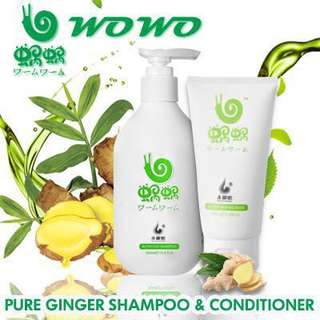 WOWO Shampoo and Hair Mask