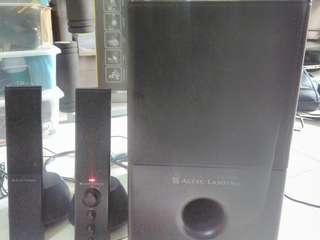 Altec Lansing VS4121 multimedia speaker system