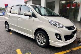 Alza vehicle car rental kereta sewa