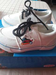 Thomas white sneakers