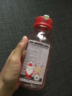 Santa & Rudolph Love Water bottle