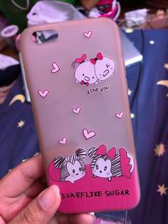 Mickey&minnie pink case for iphone 6/6s