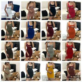 TOMMY H bodycon dress