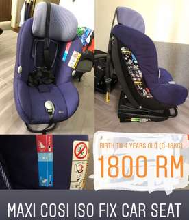 Maxi Cosi ISO fix car seat
