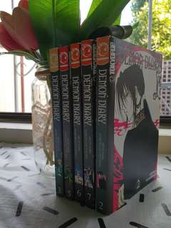 Demon Diary Volumes 2, 3, 5, 6 & 7