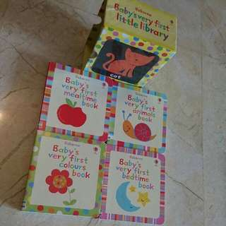 Usborne Baby's Very First Little Library Mini Books