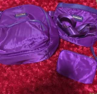 🌸BRANDNEW🌸 Purple 3 in 1 Backpack