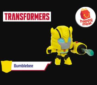 Happy Meal Toy: Bumblebee
