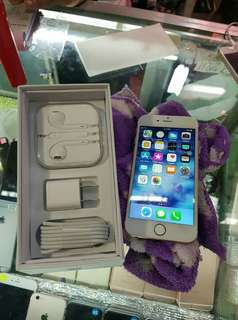 iPhone 6s with free Tempered Glass