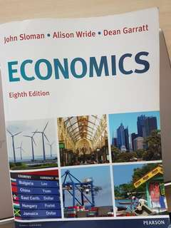 Economics TB (8th edition) for 'A' lvl students
