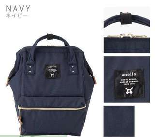 Anello Polyester Canvas Backpack Rucksack Mini Size