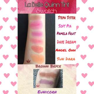 La Belle Quinn Cheek and Lip Tints