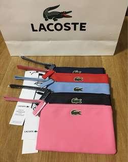 Lacoste wristlet/pouch