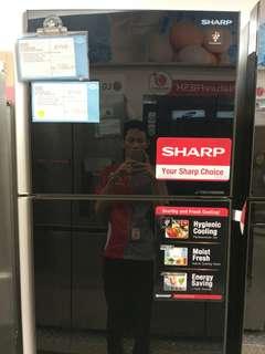 Kulkas Sharp 2 Pintu Inverter Promo Free 1X Cicilan Tanpa Kartu Kredit Proses Cepat
