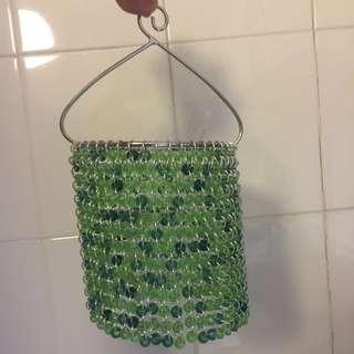 """Hanging beaded lamp H16"""""""