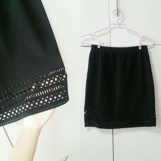 🚚 Black fitting skirt