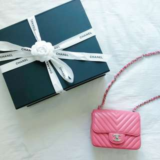 CHANEL Classic Flap Mini 17cm
