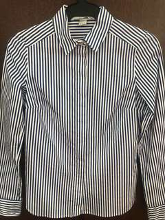 H&M striped long sleeves (blue and blue white)