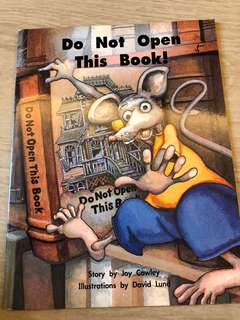 Story Book - Do not open this book
