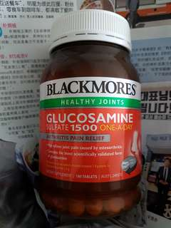 BLACKMORES Healthy Joints Glucosamine Sulfate 1500 one-a-day
