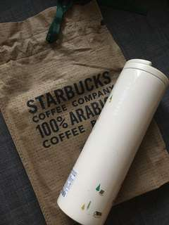 2017 Starbucks Korea JNL Coffee Village Troy Tumbler