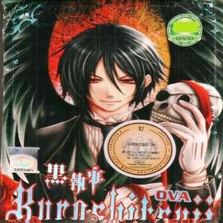 Kuroshitsuji Ova Anime DVD