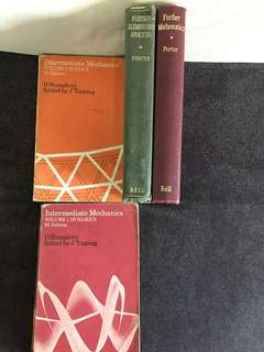 Physics and mathematics books