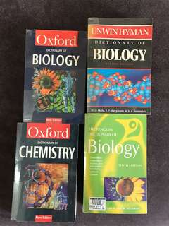 Chemistry and Biology Dictionaries