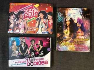 一set3套Twins, AT17 & Cookies DVD